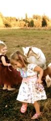 Girls & goats