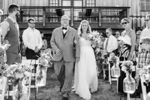 father & bride