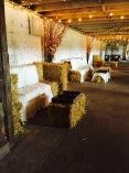 straw bale lounge