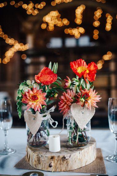 dahlias & poppies