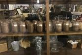 Rose gold mason jars