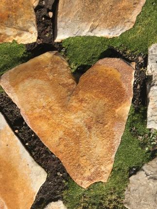 heart paver