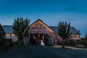 Pacific Northwest Outdoor Summer Barn Wedding in Chehalis, Washi